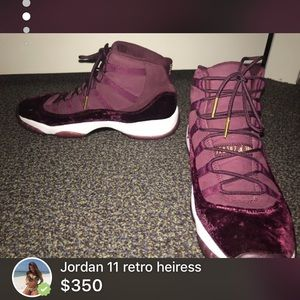 Jordan 11's retro heiress